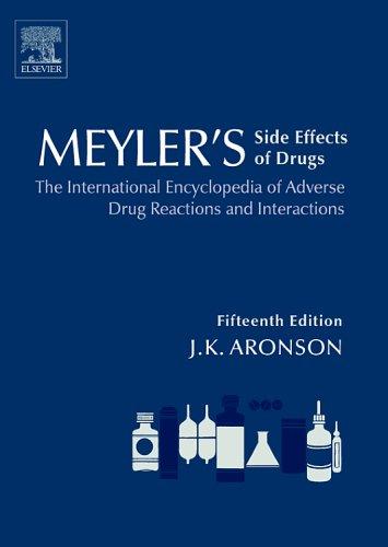 Meyler Bách Khoa thư Quốc tế về Phản ứng bất lợi và Tương tác Thuốc 15e