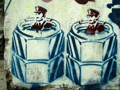 Γκράφιτι εναντίον της χούντας στην Αργεντινή