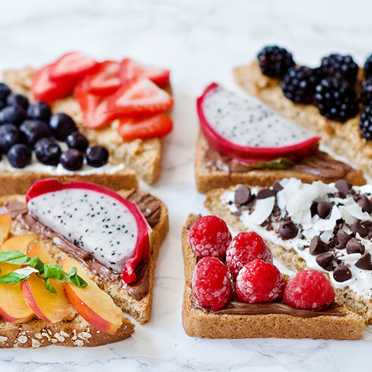 Sweet Toast Toppings