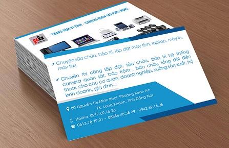 In card visit ở đâu Hà Nội - In card visit tại Thế Giới In