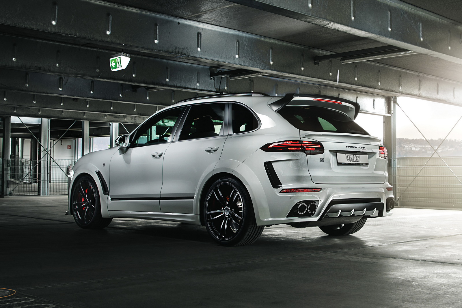 Techart S New 720hp Porsche Cayenne Magnum Sport Is Not For The Faint Hearted Carscoops