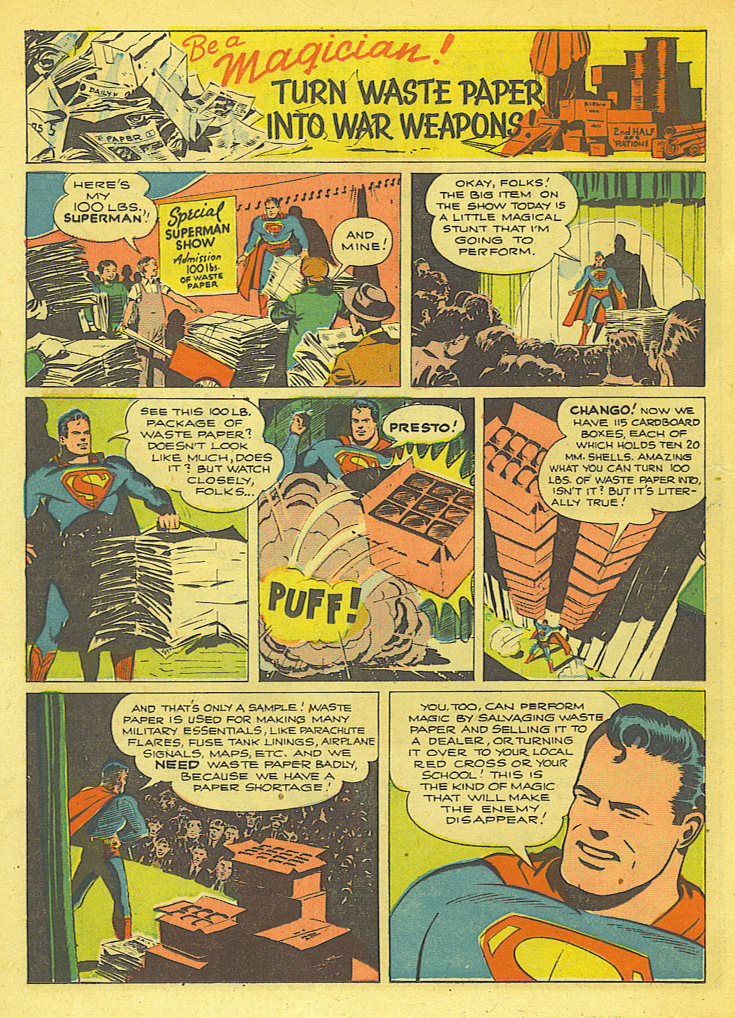 Read online Action Comics (1938) comic -  Issue #71 - 29