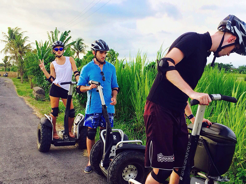 Euriental | fashion & luxury travel | Alila Soori, segway tour, Bali
