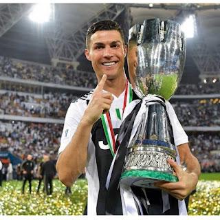 Gol Tunggal Ronaldo Antar Juventus Raih Trofi Pertamanya di Musim Ini