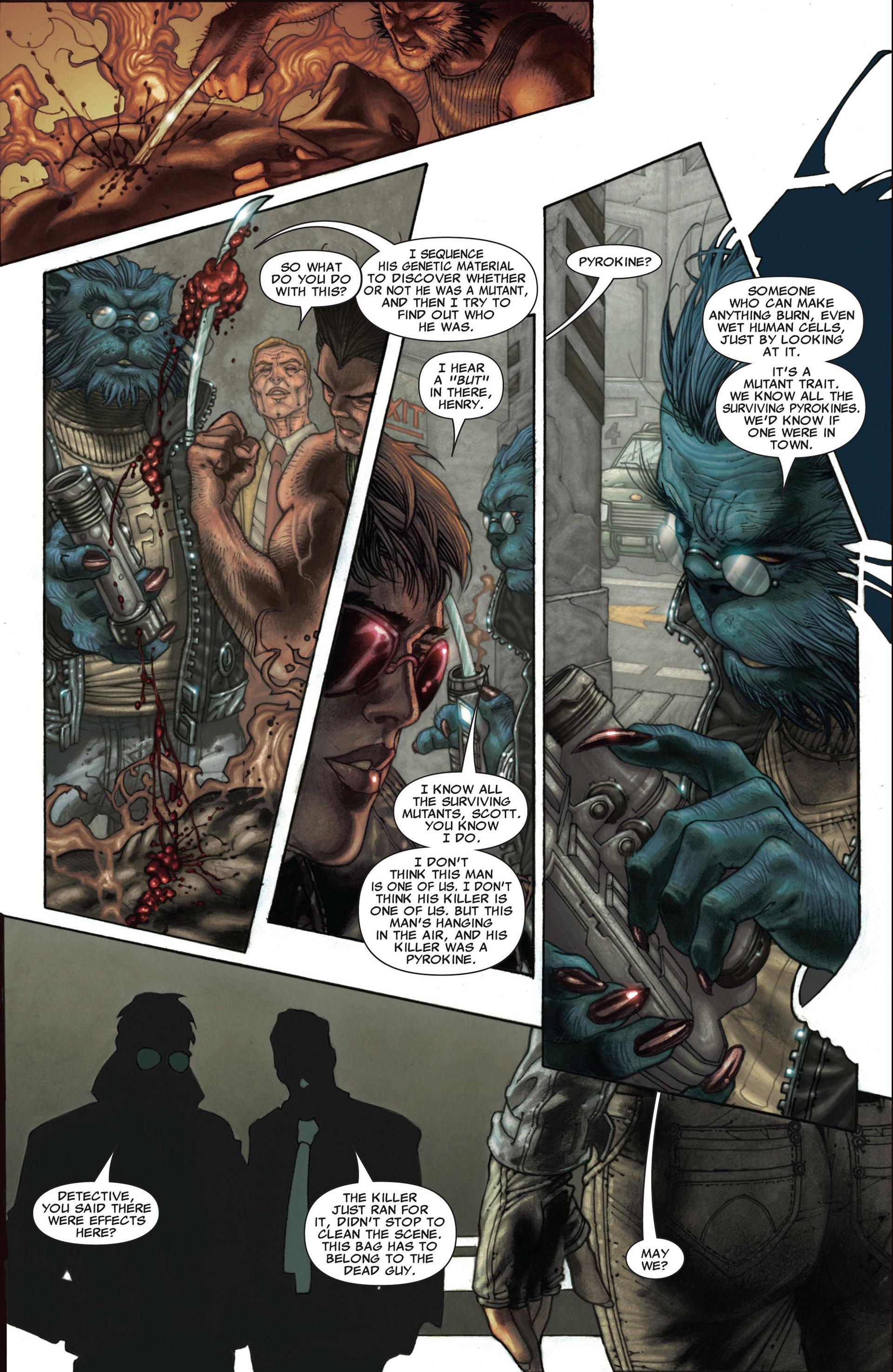 Read online Astonishing X-Men (2004) comic -  Issue #25 - 17