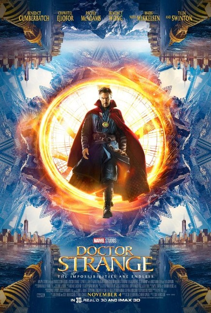 DOCTOR STRANGE (2016) movie review by Glen Tripollo
