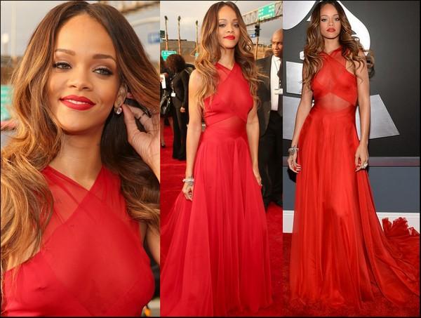 Grammys: Landas Make Up: LOOK. Inspirado En Rihanna (premios Grammy