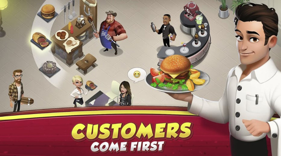 Download World Chef Mod Apk v1.38.3 Unlimited Money Gems Terbaru