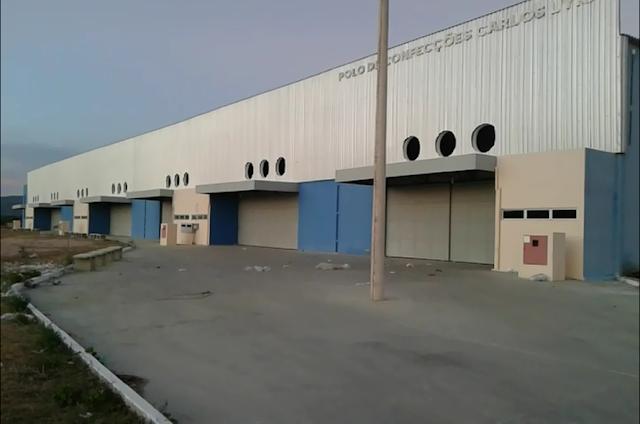 Polo de Confecções  em Delmiro Gouveia completa 2 anos de  sua inauguração, porém está sem funcionamento