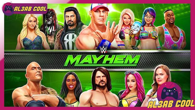 تحميل لعبة wwe mayhem اخر اصدار