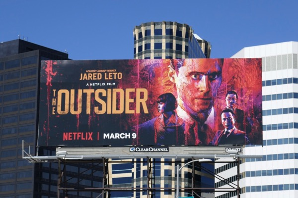 Outsider Netflix film billboard