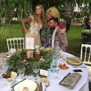 ZAINSPIRUJ SIĘ: rustykalny ślub Lary Gessler na łonie natury