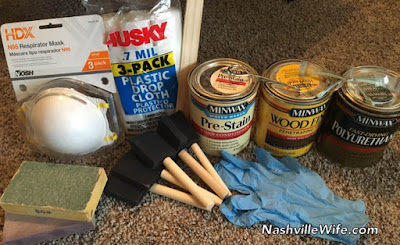 supplies to refinish furniture