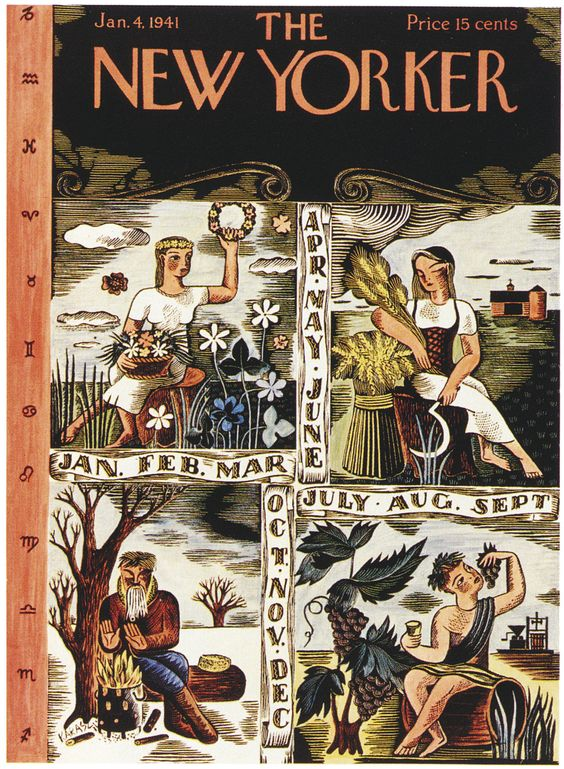 4 January 1941 worldwartwo.filminspector.com New Yorker cover