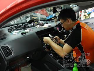 Kia Rio K2 Sony Head Unit Player Touchscreen sgwangacc