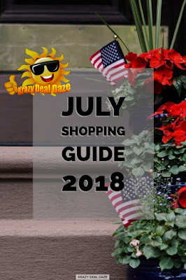 Krazy Deal Daze July Shopping Guide 2018
