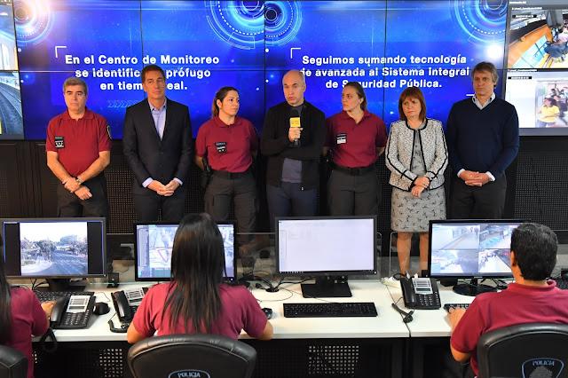 Ciudad de Buenos Aires presentó el nuevo Sistema de Reconocimiento Facial de la Policía