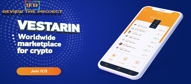 Vestarin - Worldwide Marketplace For Cryptocurrency