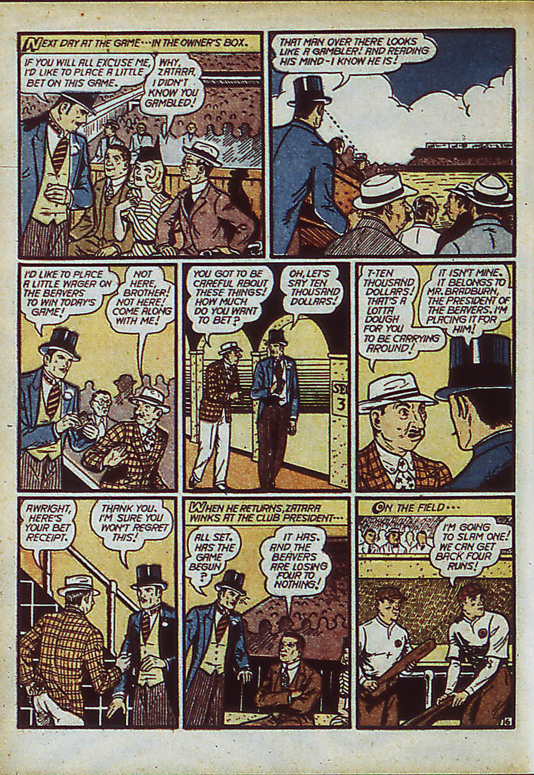 Read online Action Comics (1938) comic -  Issue #37 - 62