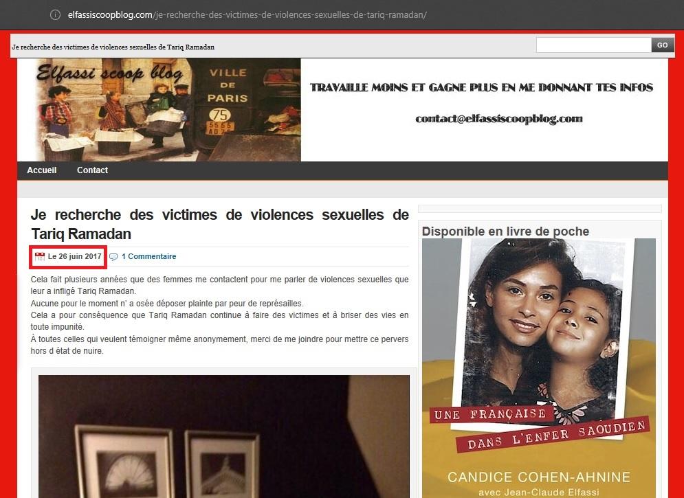 Dossier tariq ramadan 1 la descente aux enfers - Comment porter plainte contre son avocat ...