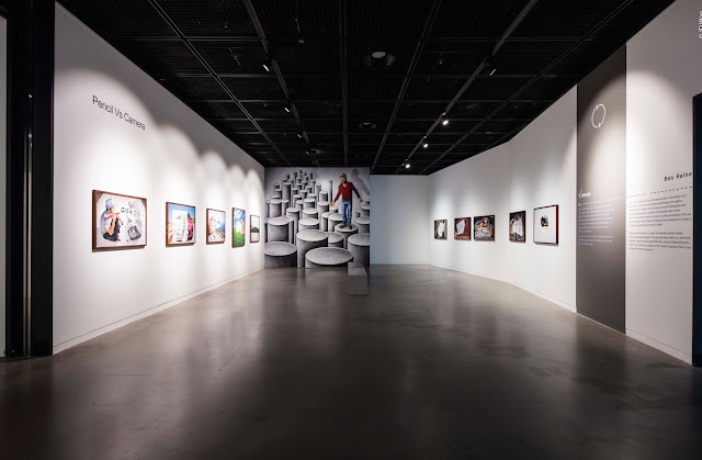 Pencil Vs Camera Art Exhibition at Suwon iPark Museum of Art - South Korea 2017 - Ben Heine Art 1