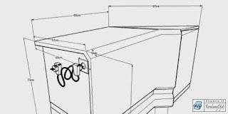 Kontraktor Interior - Meja Rapat Modular / KnockDown dilengkapi Arus Listrik