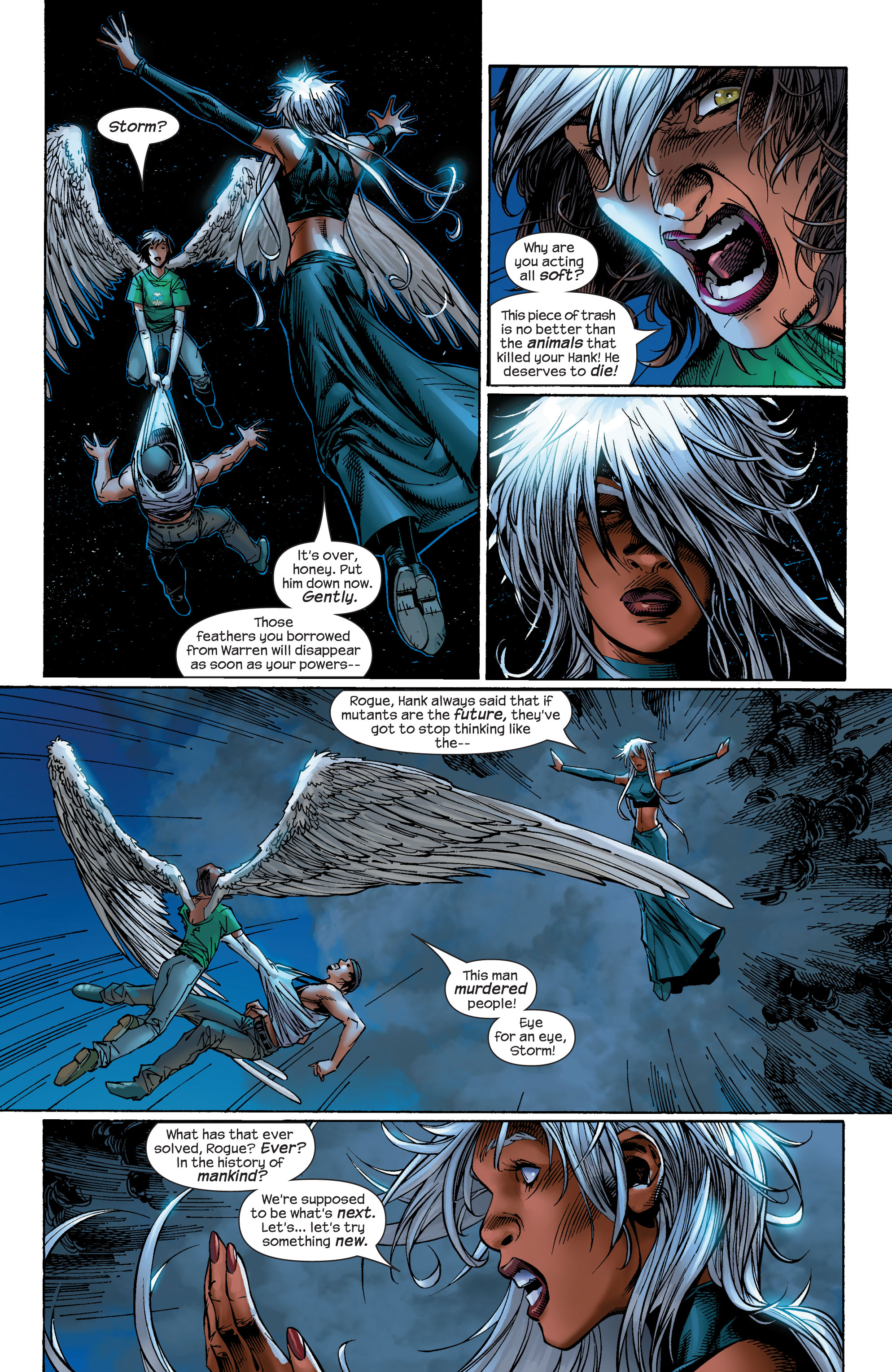 Read online Ultimate X-Men comic -  Issue #49 - 20