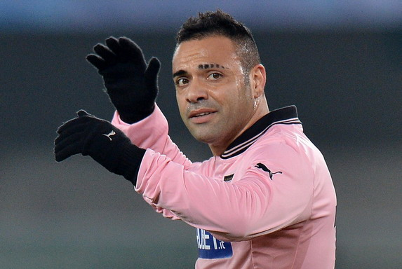 Fabrizio Miccoli is under investigation for his friendship with son of a Mafia boss