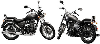 Royal Enfield Thunderbird 500 left right side