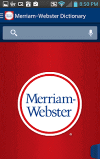 تطبيق merriamwebster