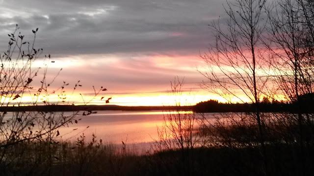 Jäätiönlahti Nuasjärvi