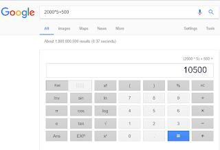 trik Rahasia Google yang jarang diketahui publik