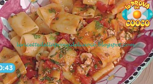 Paccheri al sugo alla marinara con gamberetti ricetta Marretti da Prova del Cuoco