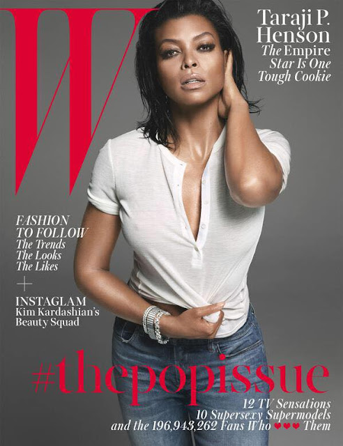 TARAJI P. HENSON SEXY ON W MAGAZINE...