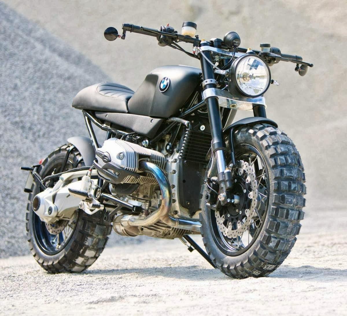 Berikut Galeri Foto Modifikasi Motor BMW R R Tahun