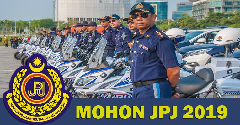 Permohonan Terbuka Jawatan di JPJ