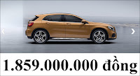 Giá xe Mercedes GLA 250 4MATIC