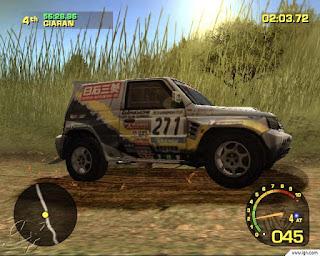 Dakar 2: The World's Ultimate Rally (PS2) 2003