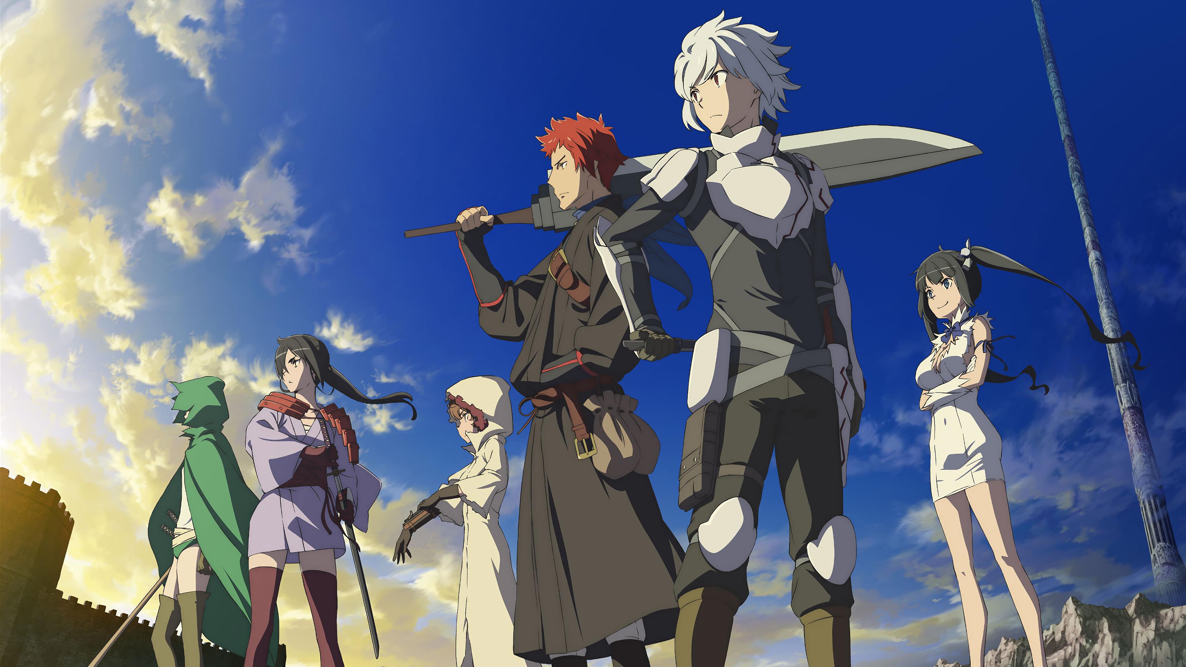 Unduh 90 Wallpaper Hd Anime Danmachi HD Gratid