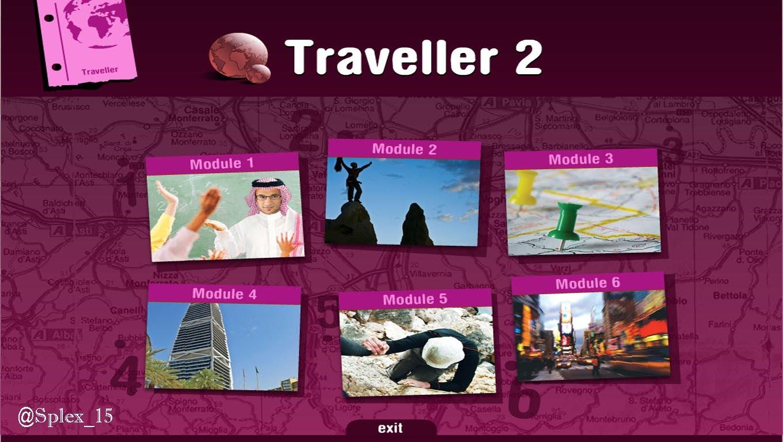 تحميل كتاب الانجليزي traveller 2