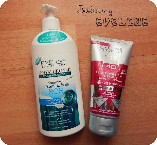 Balsamy 4D Eveline (nawilżający i wyszczuplający)
