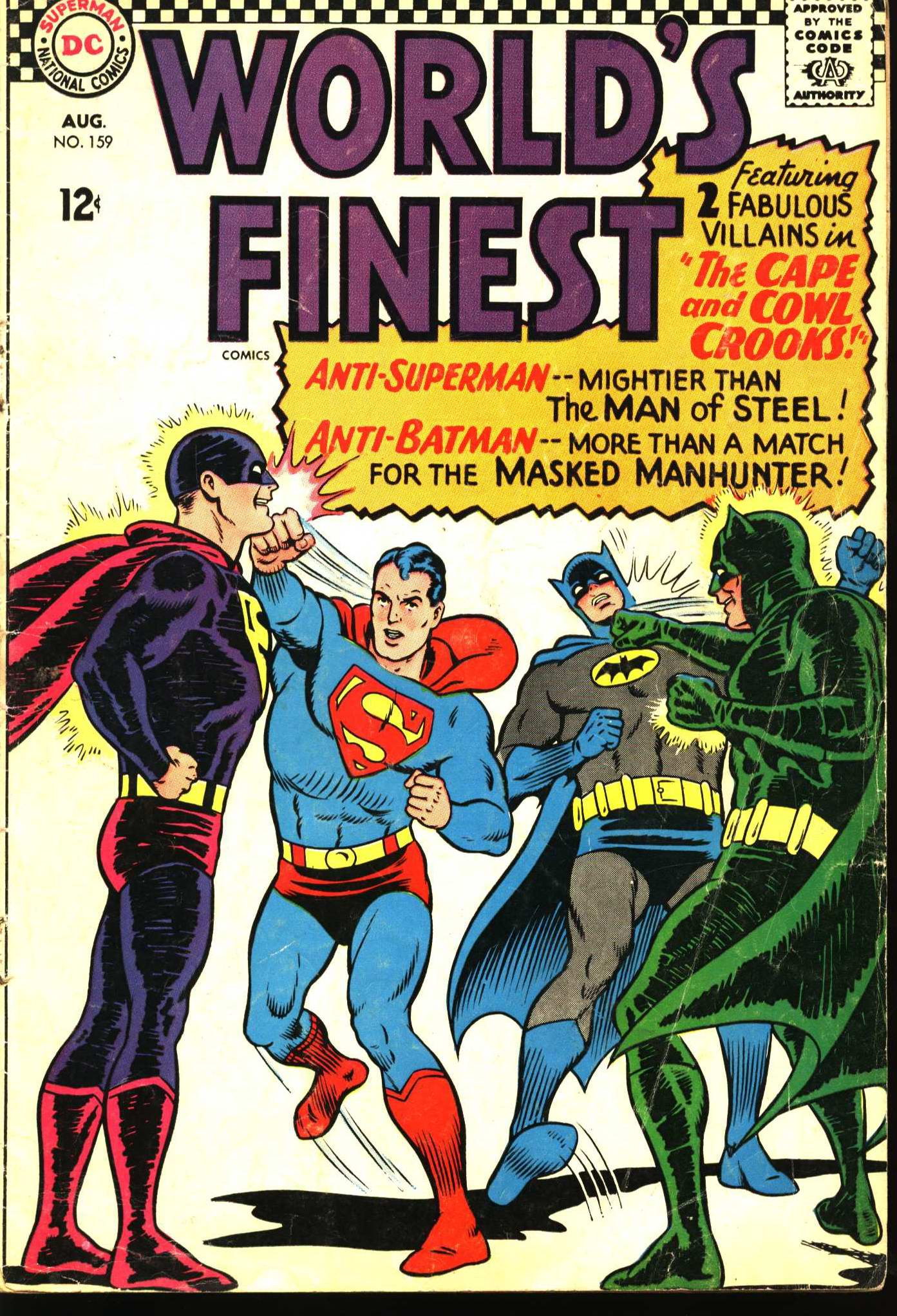 Read online World's Finest Comics comic -  Issue #159 - 1
