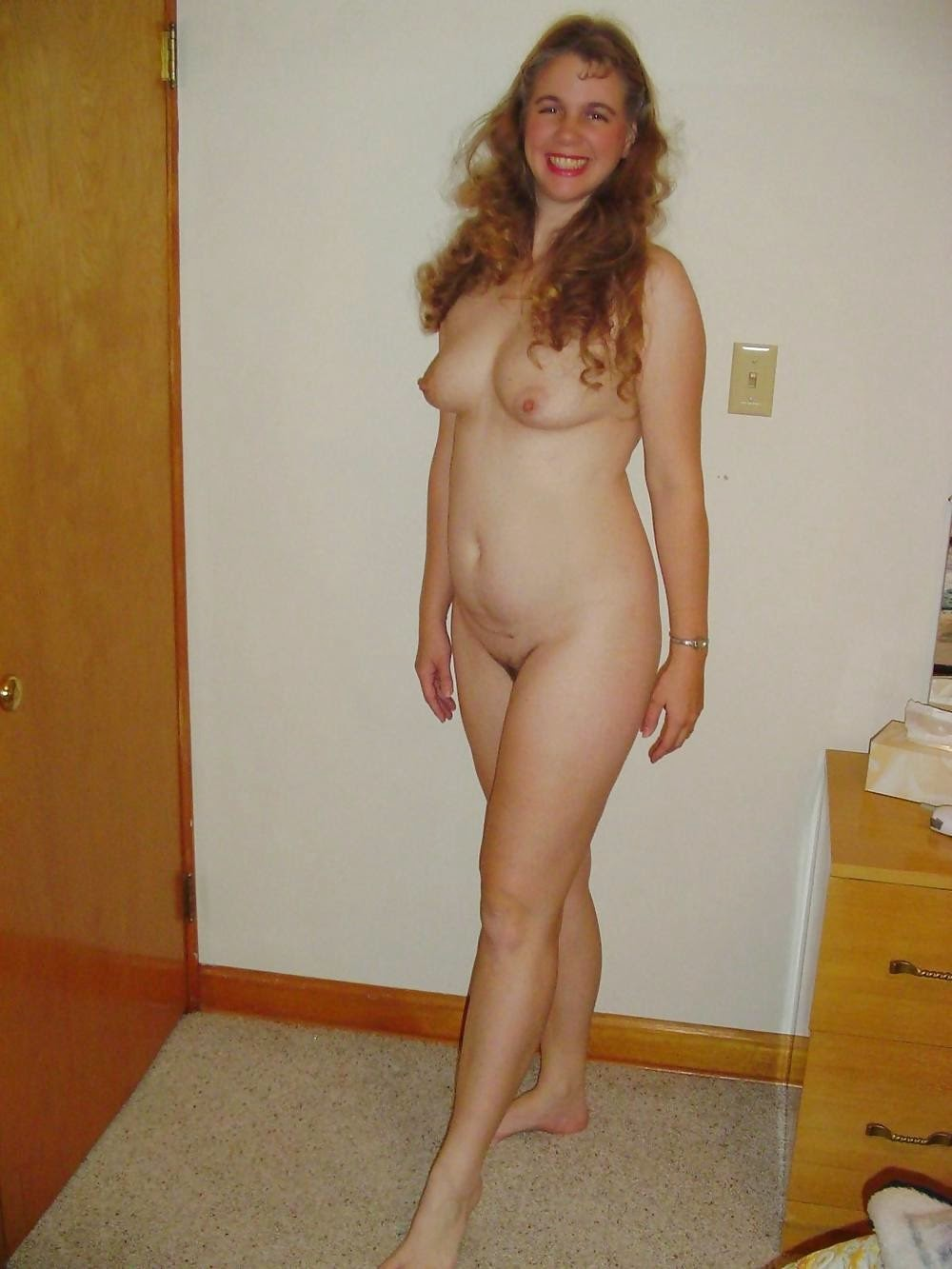 Hairy women naked for first time