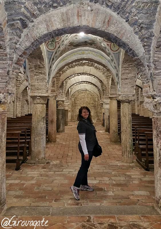 abbazia montecorona cripta valtiberina