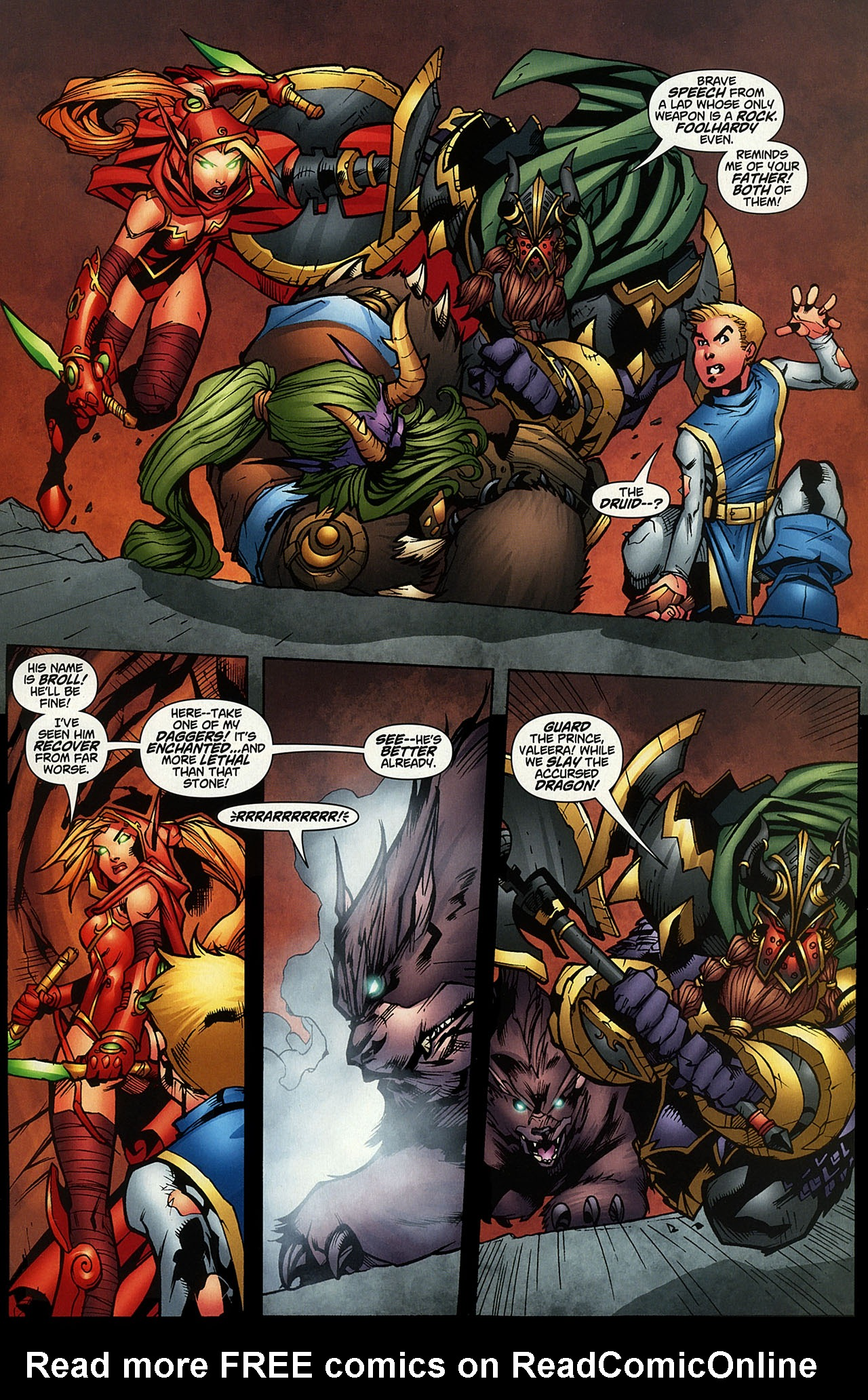 Read online World of Warcraft comic -  Issue #14 - 12