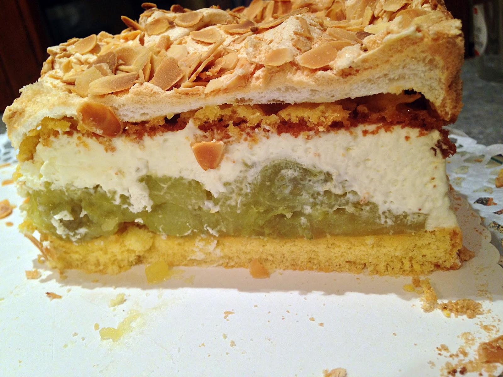 Backsucht Mamas Rezepte Teil 3 Stachelbeer Baiser Torte