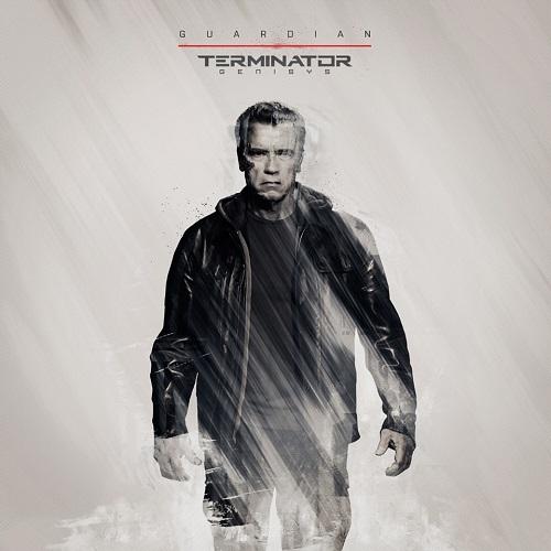 Arnold Schwarzenegger Guardian Terminator T 800 Genisys Movie Poster Wallpaper Image Screensaver Picture