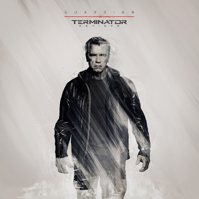 Arnold Schwarzenegger Guardian Terminator T-800 Terminator Genisys movie poster wallpaper image screensaver picture