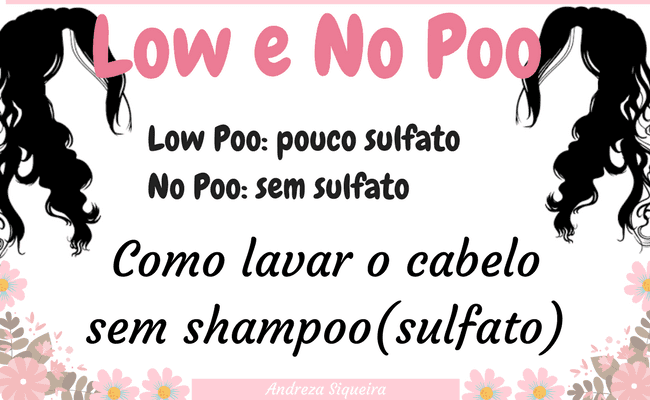 técnica low poo w no poo