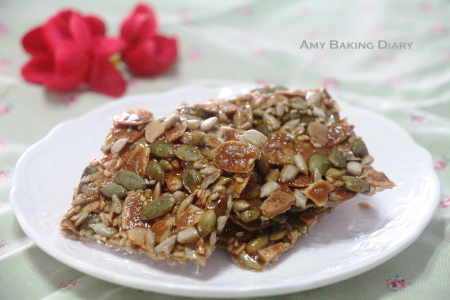 Amy Baking Diary: Nutty Florentine Cookies